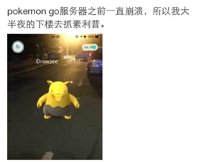 段子频出 Pokemon Go全球玩家逗趣反应合集[多图]图片5