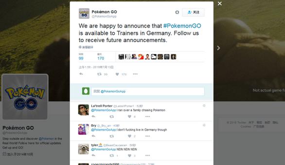 口袋妖怪GO已登陆德国 其他地区陆续开放[多图]