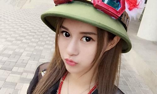 """女神刘珍妮外形甜美被称为""""电竞Angelababy"""""""
