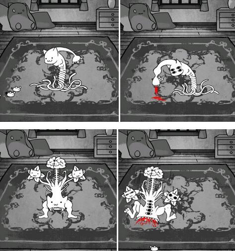 细思极恐的猫咪 盘点黑暗系喵星人手游[多图]图片4