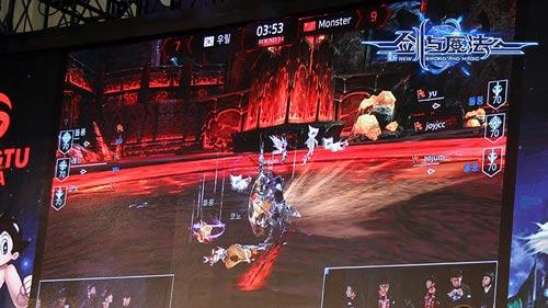 女神泰妍助阵对决《新剑与魔法》3v3挑战赛中国