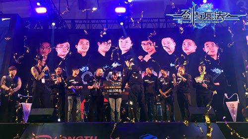 《新剑与魔法》全球3V3竞技赛 釜山巅峰战回顾