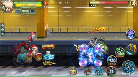 圣诞大作战 《时空枪战》惊喜玩法乐翻天