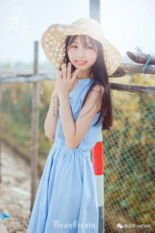 美女图片:清纯美女夏日室外可爱写真[多图]图片6