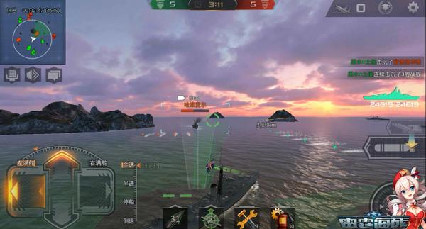 《雷霆海战》英驱实战:灵巧之下更具震慑[多图]图片2
