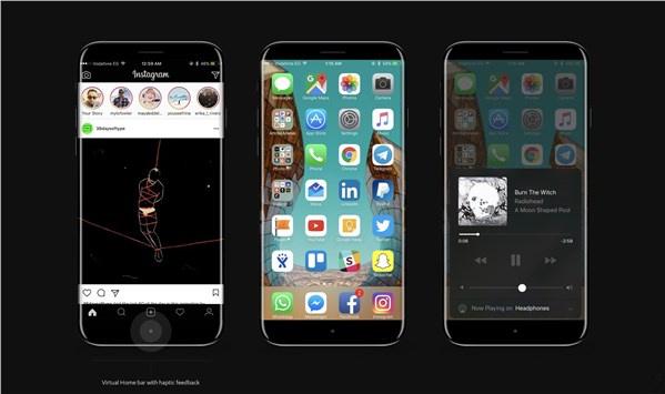 iPhone8最新概念图出炉 机身圆润形似三星[多图]图片3