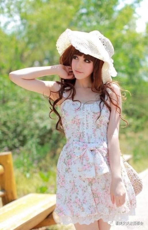 美女图片:时尚清新美少女的郊游随拍[多图]图片2