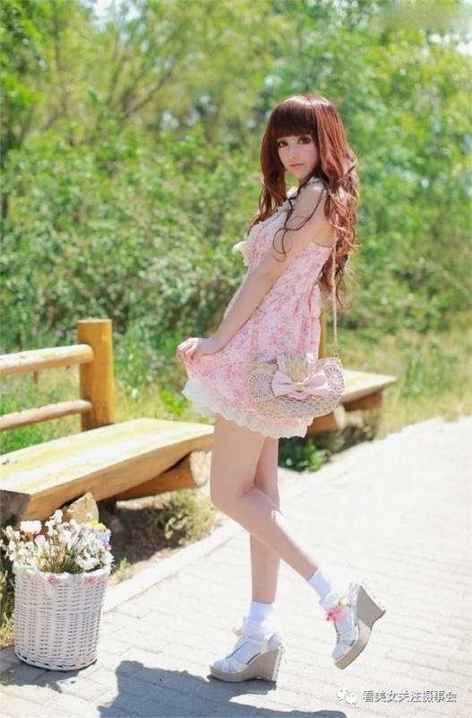 美女图片:时尚清新美少女的郊游随拍[多图]图片3