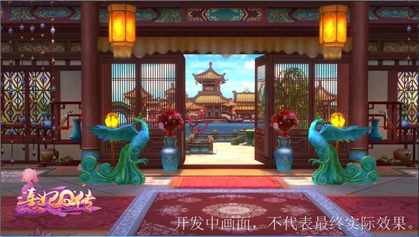 风光旖旎秀色宜人 《熹妃Q传》3D室外风景赏[多图]图片2