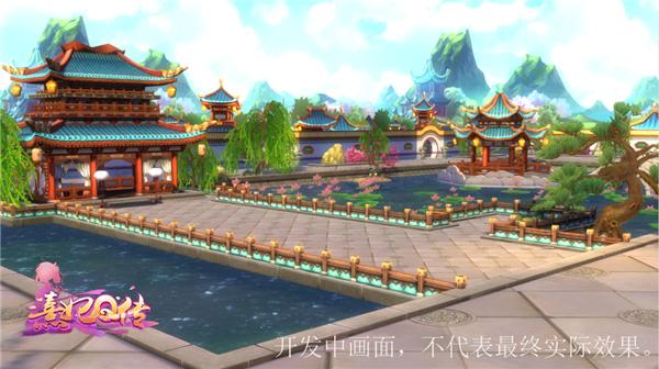 风光旖旎秀色宜人 《熹妃Q传》3D室外风景赏[多图]图片3