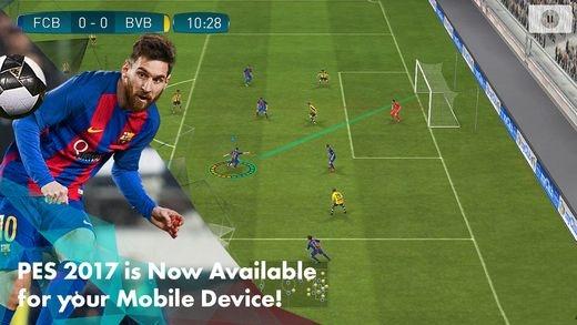 《实况足球2017》移动版将于本月正式推出[多图]图片1