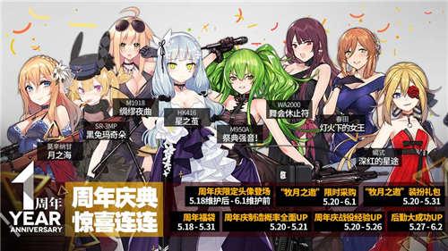 《少女前线》5.20周年庆 主题列车全线出击[多图]图片3