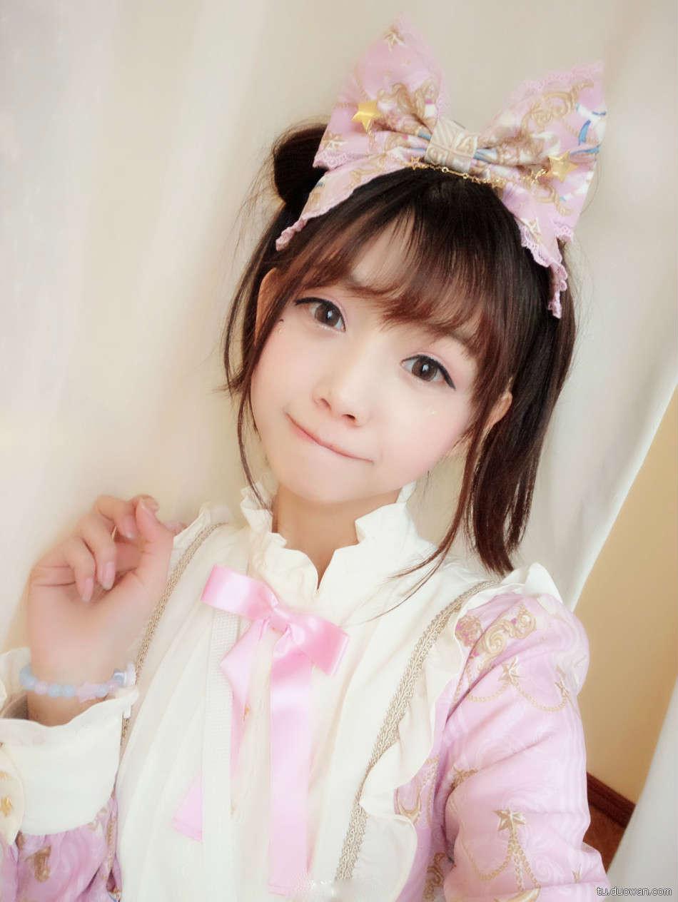 美女图片:可爱coser猫梓子面容似真人娃娃[多图]图片2