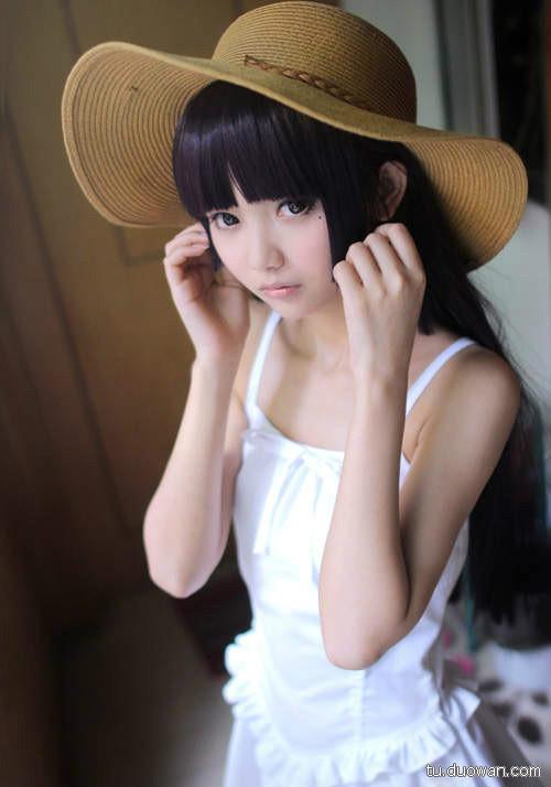美女图片:可爱coser猫梓子面容似真人娃娃[多图]图片6