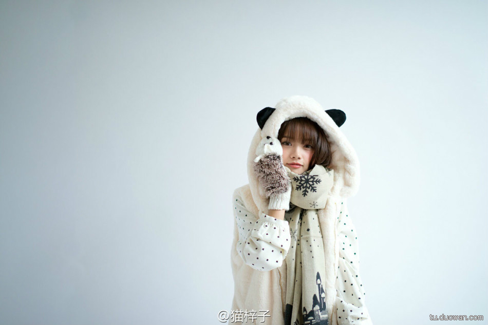 美女图片:可爱coser猫梓子面容似真人娃娃[多图]图片3