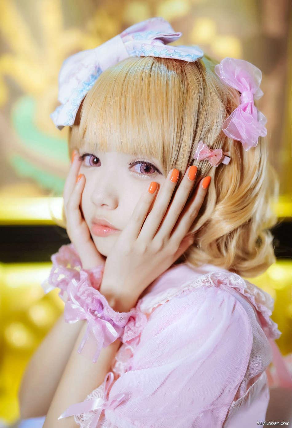 美女图片:可爱coser猫梓子面容似真人娃娃[多图]图片8