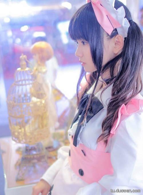 美女图片:可爱coser猫梓子面容似真人娃娃[多图]图片7
