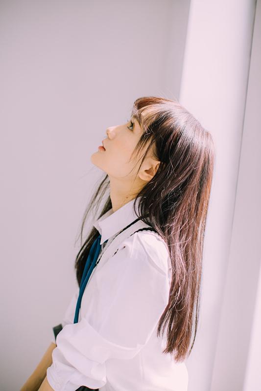美女图片:新晋国民初恋又又 校园清纯写真[多图]图片7