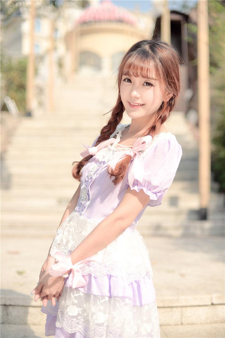 美女图片:小清新美女小九Vin甜美写真气质过人[多图]图片1