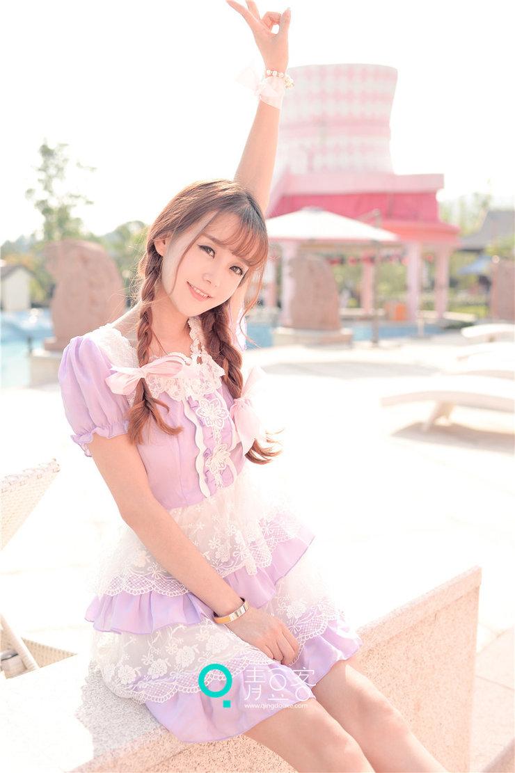 美女图片:小清新美女小九Vin甜美写真气质过人[多图]图片4