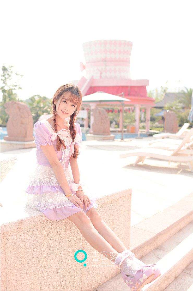 美女图片:小清新美女小九Vin甜美写真气质过人[多图]图片3