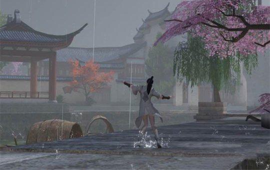 下雨天屁股疼!《楚留香》特殊天气糗事多[多图]图片2