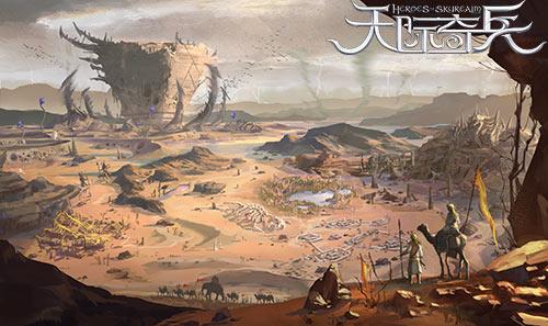 3D主机级画面《天际奇兵》绝美场景曝光[多图]图片1