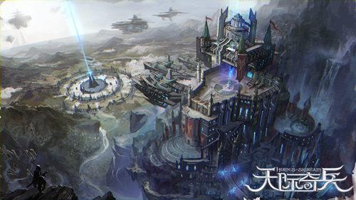 3D主机级画面《天际奇兵》绝美场景曝光[多图]图片2