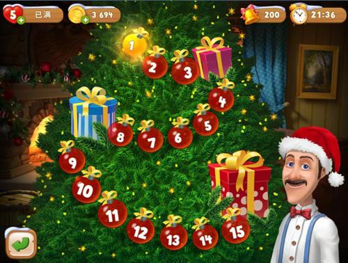 《梦幻花园》福利不多第三期 点亮梦幻圣诞树[多图]图片2