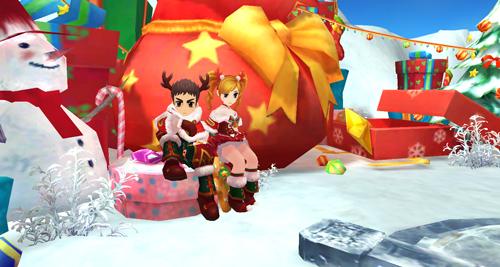 新时装新坐骑 《热血江湖手游》圣诞特别版来袭[多图]图片3
