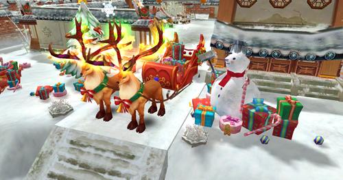 新时装新坐骑 《热血江湖手游》圣诞特别版来袭[多图]图片6