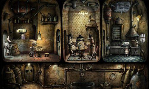 """正版《机械迷城》来袭 揭秘""""艺术式""""独立游戏[多图]图片3"""