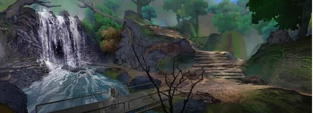 流连忘返!《甲铁城的卡巴内瑞》地图原画赏析[多图]图片2