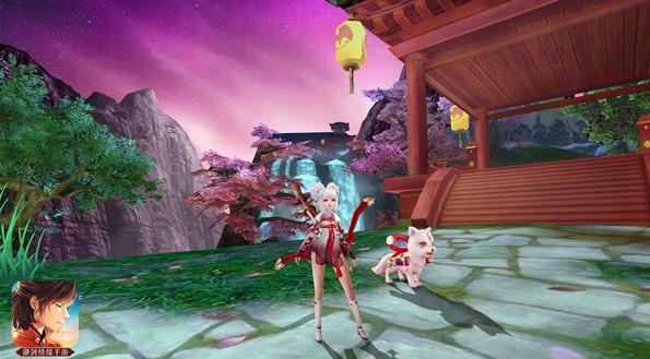 周冬雨代言《御剑情缘》突破次元壁的少女来了[多图]图片3