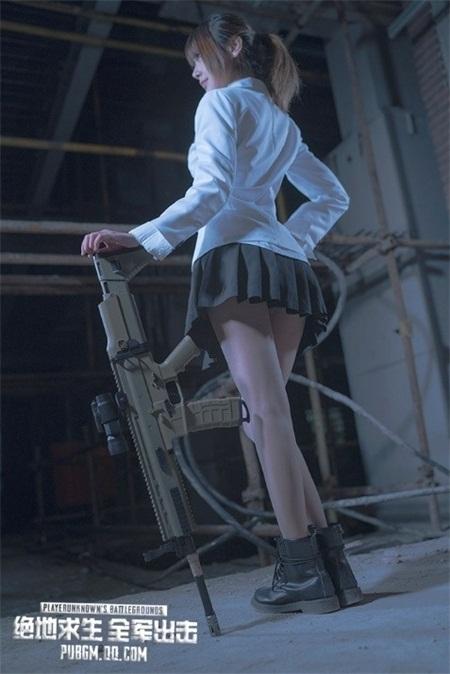 玩家Coser作品获《绝地求生全军出击》官方点赞[多图]图片3
