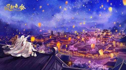盛世灯火等你归来 《风起长安》全新主视觉发布[多图]图片1