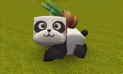 迷你世界怎么驯服熊猫 游戏中熊猫驯服方法详解[图]图片1